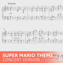 super mario theme concert version